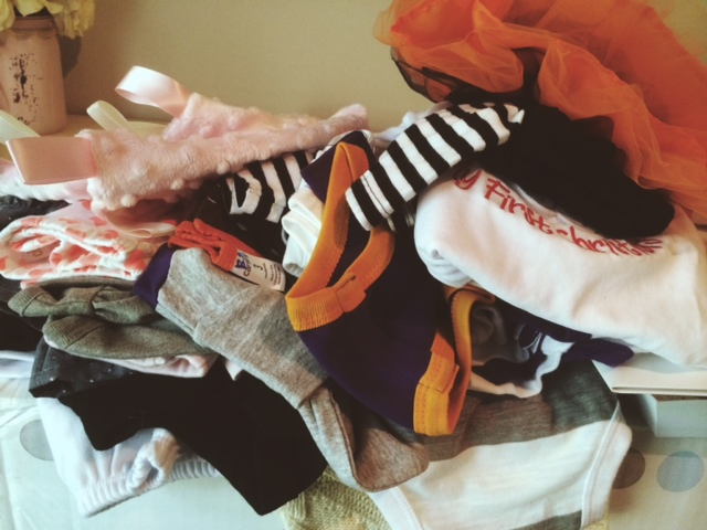 the baby clothes await...