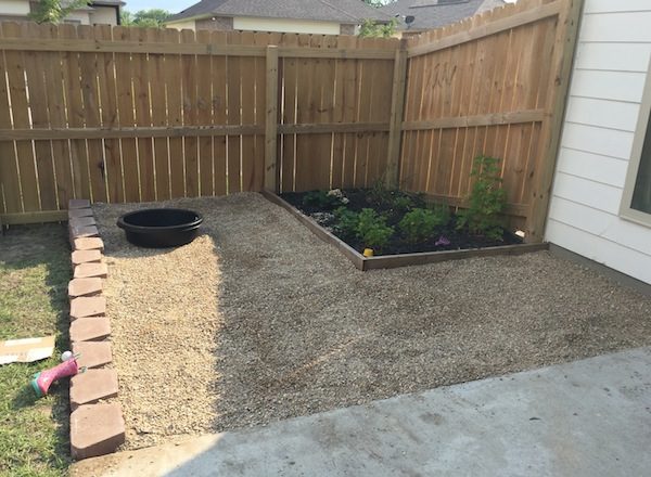 Backyard Rocks Done
