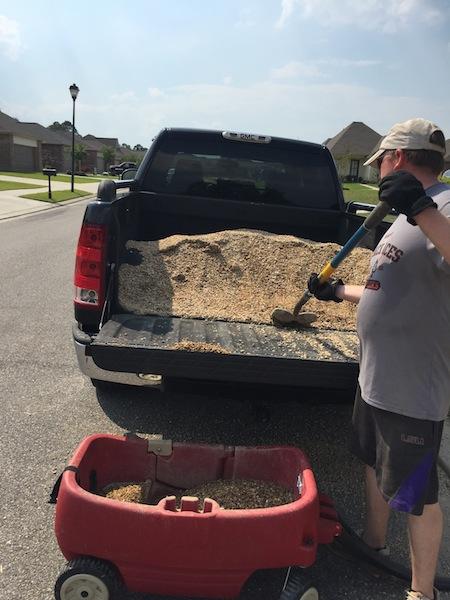 Backyard Truck