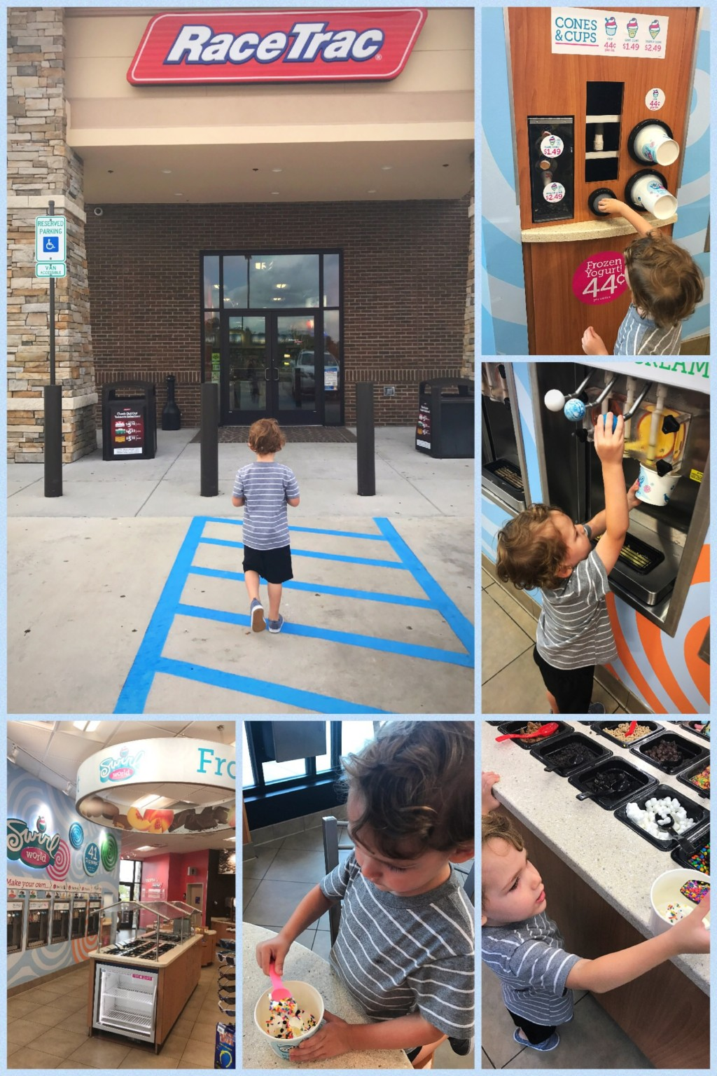 Summer Swirlin' With The Family at RaceTrac
