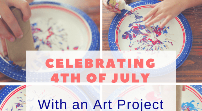 Celebrating 4th of July with an Art Project