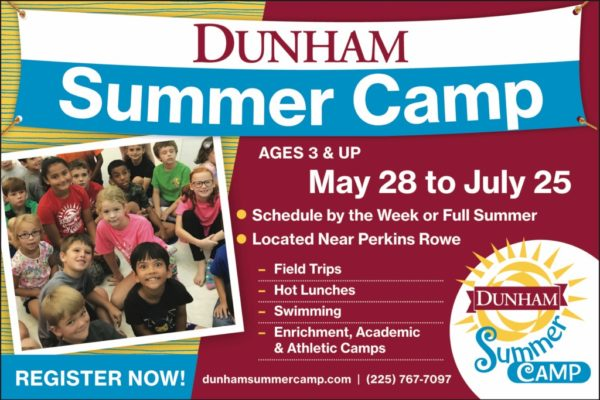 Dunham Summer Camp Baton Rouge