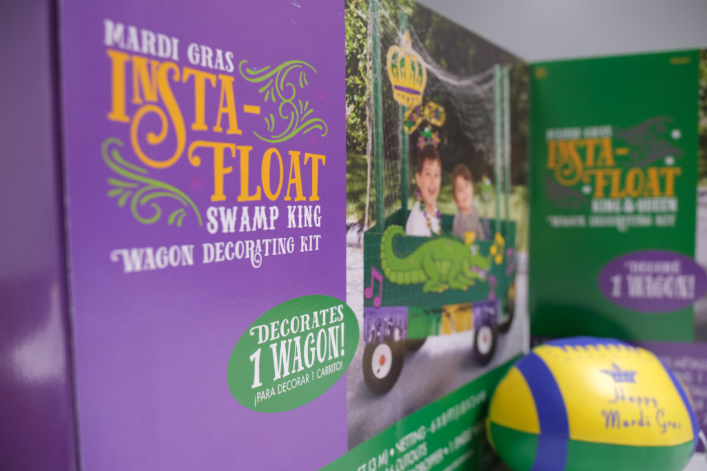 Mardi Gras Made Easy Thanks To The Mardi Gras Wagon Insta Floats At Party Time