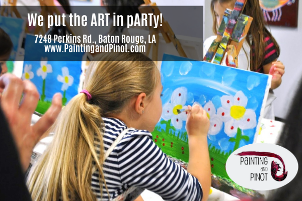 Where to have a painting party in Baton Rouge?