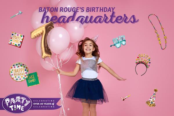Party Supplies Baton Rouge