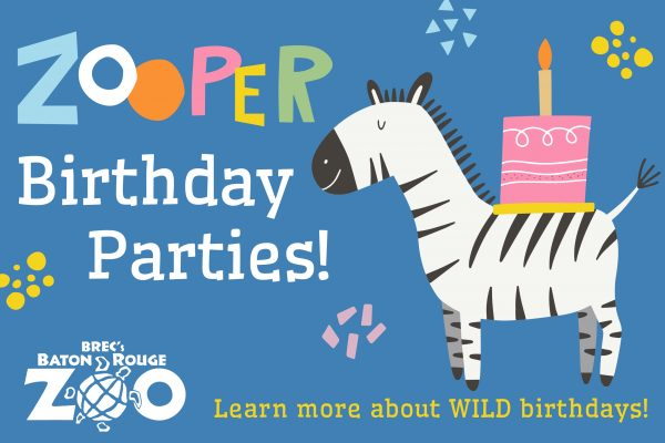 Birthday Parties at the Baton Rouge Zoo