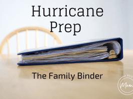 hurricane binder
