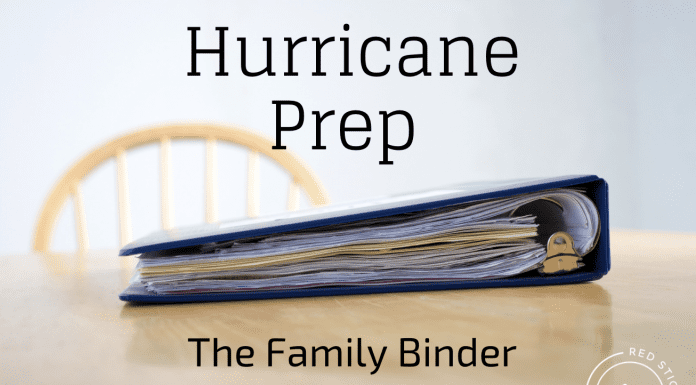 hurricane binder