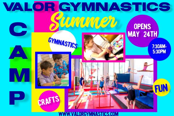 Gymnastics Camp in Baton Rouge