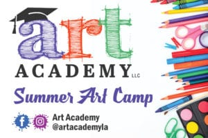 Summer Art Camp in Baton Rouge