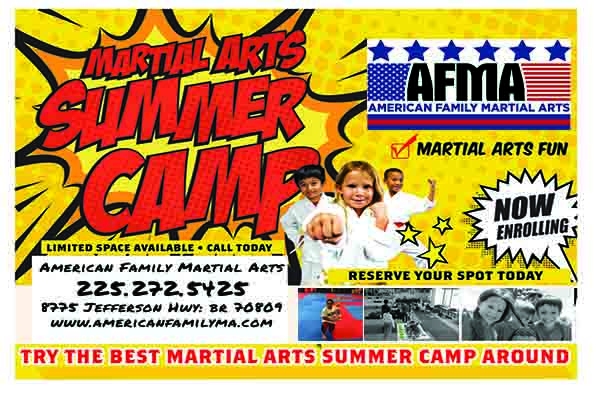 Karate Camp Baton Rouge