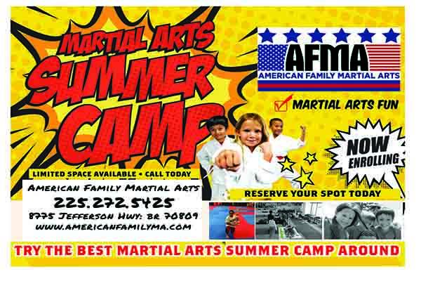 Karate Camp Baton Rouge