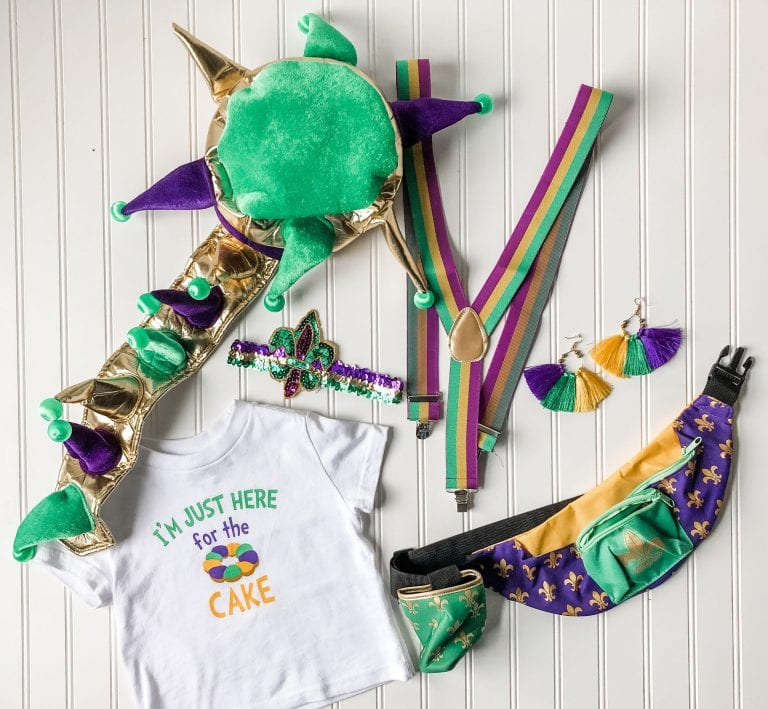 Mardi Gras Wearables for the Whole Family, Cher!