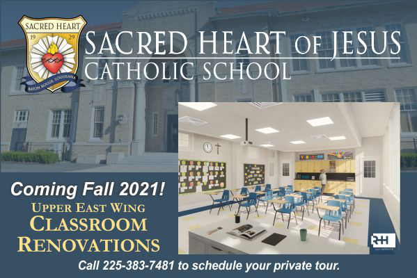 Catholic School Options in Baton Rouge