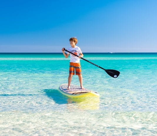 Beach activities that are socially distant in Destin, Florida.