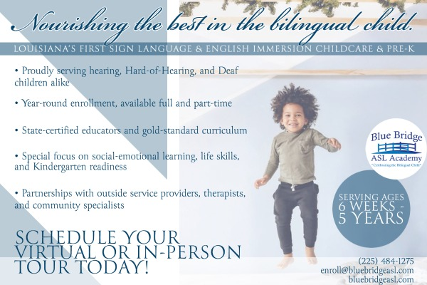 The very first language immersion pre-school and childcare center in Louisiana