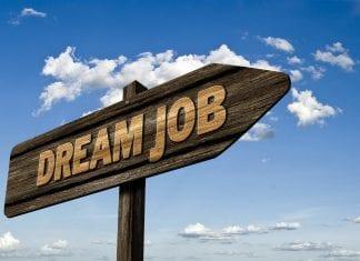 dream job sign