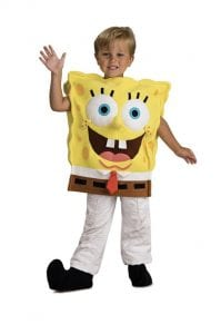 Boys Spongebob costume Baton Rouge.