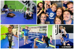 Active birthday party options with KidStrong in Baton Rouge