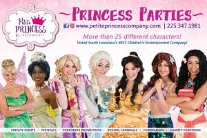 Where to hire princesses in Baton Rouge