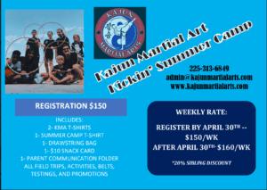 Baton Rouge Karate Camp