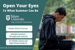 Tulane Pre-College Summer Camp