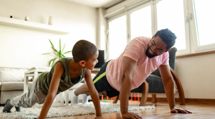 How to Get Your Kids to Exercise with You