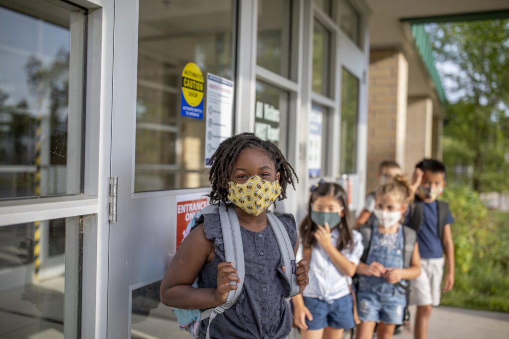 Returning to school during the pandemic