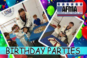 Martial Arts Birthday Party Baton Rouge